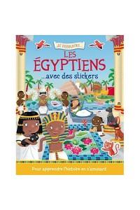 JE DECOUVRE LES EGYPTIENS AVEC DES STICKERS