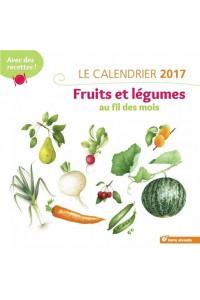 CALENDRIER 2017 FRUITS ET LEGUMES AU FIL DES MOIS