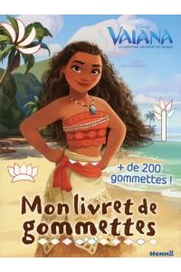 DISNEY VAIANA MON LIVRET DE GOMMETTES
