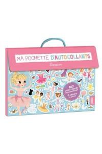 MA POCHETTE D'AUTOCOLLANTS - SPECIAL DANSEUSES (COLL. MA POCHETTE D'ARTISTE)