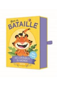 JEU DE BATAILLE DES ANIMAUX DU MONDE