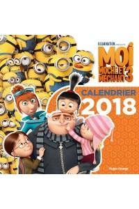CALENDRIER MURAL MOI, MOCHE ET MECHANT 3 2018